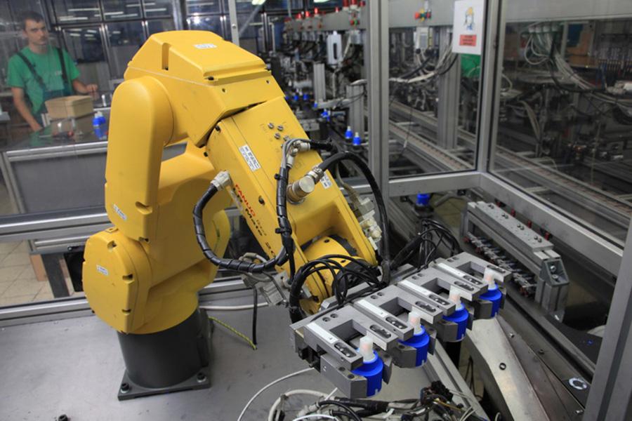 Роботы завода KEROX